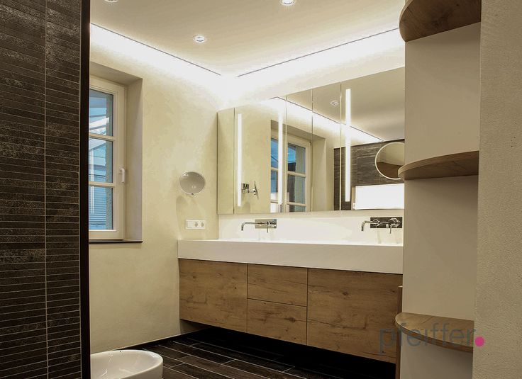 Doppelwaschbecken mit unterschrank holz  Die besten 25+ Badezimmer unterschrank holz Ideen auf Pinterest ...