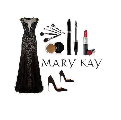 """Étoilé tapis rouge de la nuit dernière a été rempli avec des robes et des touches de couleur noir élégant! Nous vous suggérons de jumelage ce look audacieux avec Mary Kay Crème Rouge à lèvres """"Vraiment rouge"""""""