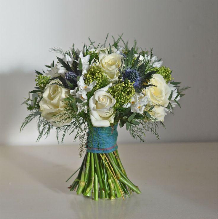Wedding Flowers Blog: Helen's Wedding Flowers, Roses and Thistles, Rhinefield House