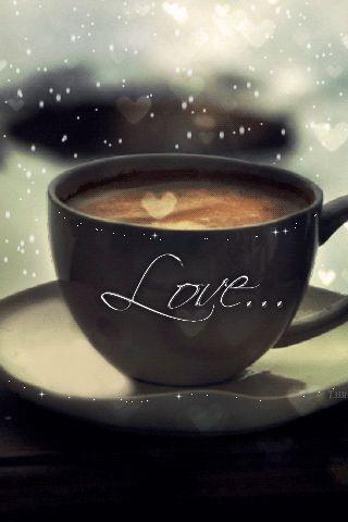 Imagini ,miscatoare,Gifuri,cu sclipici,stralucesc,blog,informatii,urari,mesaje,felicitari zi nastere: Ceasca cu cafea magica