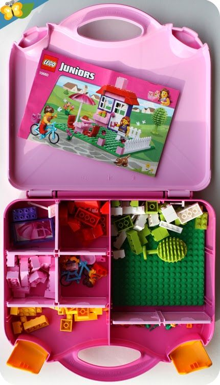 la valise de construction fille lego juniors easy to build n