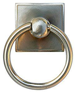 Alno A580-SN Eclectic Modern Pulls, 2-3/8 , Satin Nickel - Towel Rings -