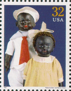 USPS 1997 - Alabama Baby & doll by Martha Chase from the ...