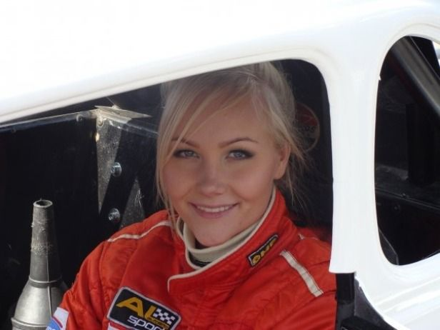 The First Female Race Car Driver in the Scandinavian Touring Car Championship in 15 Years