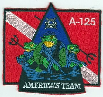 1st Special Forces Group Pocket Patches Operational Detachment A-125 B Company, 1st Battalion