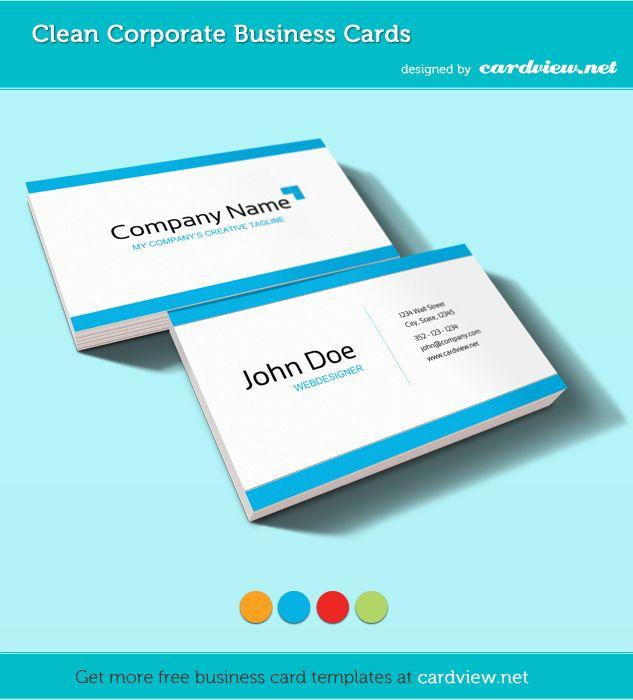 17 beste ideer om Business Card Psd Template på Pinterest Card - business card sample