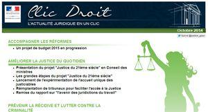 http://www.textes.justice.gouv.fr/clic-droit-lactualite-juridique-en-un-clic-11816/