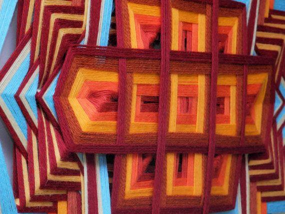 Étincelle de vie un 24 pouces fil de laine Ojo de par JaysMandalas