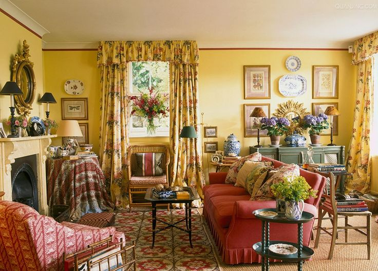 Fetching Welsh Sitting Room With Mix Of Prints
