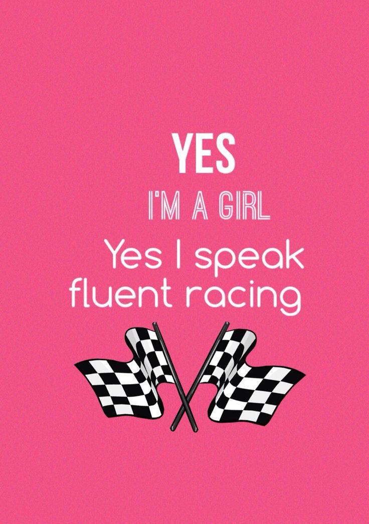 Dirt track racing. You betcha I do.