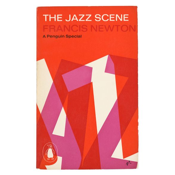 Book cover: The Jazz Scene | Alan Fletcher