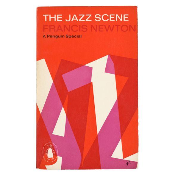 Book cover: The Jazz Scene | Alan Fletcher