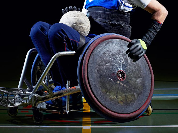 When Team USA takes the court in wheelchair rugby today, they've got super-smart…