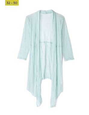 mint mesh ditsy design coverup