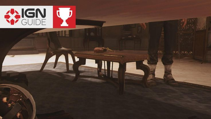Dishonored 2 Achievement / Trophy - Under the Table IGN shows you how to get the Under the Table achievement and trophy in Mission 7 of Dishonored 2.    For more guide help check out the Dishonored 2 Wiki at http://ift.tt/2fkK3DN November 17 2016 at 09:12PM  https://www.youtube.com/user/ScottDogGaming