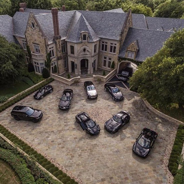 """Boss Homes on Instagram: """"Millionaire Mansion stable All black daily car options ⚫️ . Follow @classysavant for more luxury, homes, jets, cars and millionaire lifestyle! Follow @classysavant ! . McLaren MP4-12C Rolls Royce Mercedes-Benz SLS AMG Ferrari 458 Italia Porsche 911 Turbo Bentley Mulsanne Range Rover Mercedes-Benz G63 Mercedes-Benz S63 Black Series Which car would you pick ? All black & Tag your friends! ---- © @pepperyandell"""""""