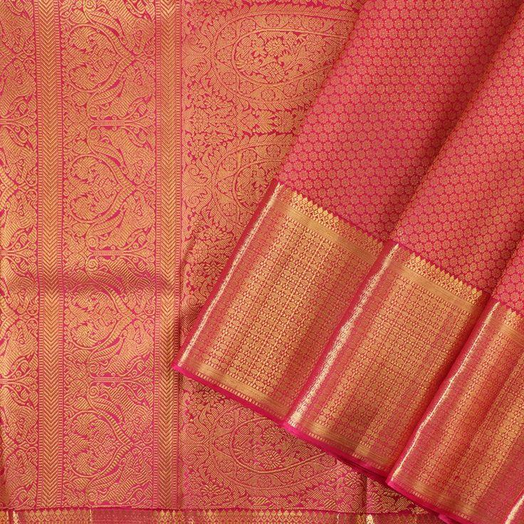 Kanakavalli Kanjivaram Silk Sari 100-01-18435 - Cover View