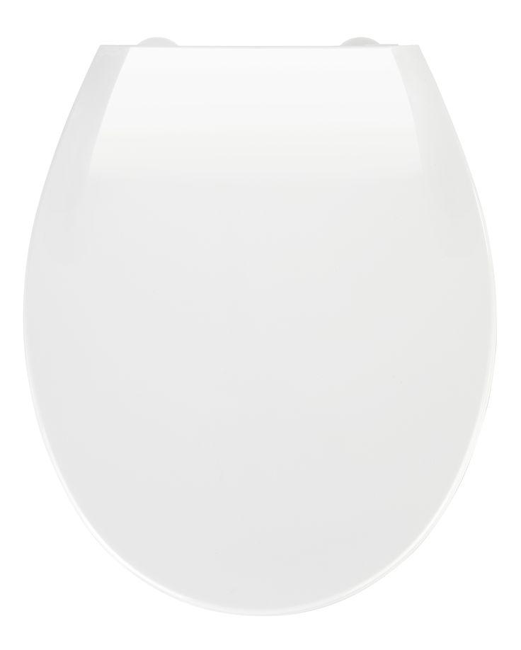 WENKO Premium WC-Sitz Kos Weiß mit Absenkautomatik  Description: Der hochwertig verarbeitete weiße Premium WC-Sitz Kos aus Thermoplast hat eine klassische ovale Deckelform. Er verfügt nicht nur über einen angenehmen Sitzkomfort sondern ist mit praktischen Zusatzfunktionen ausgestattet. Die integrierte Easy-Close Absenkautomatik macht endlich Schluss mit dem lästigen Geräusch von zuklappenden WC-Sitzen und Fingerquetschen. Leichtes Antippen genügt - und schon schließt sich der Deckel ganz von…