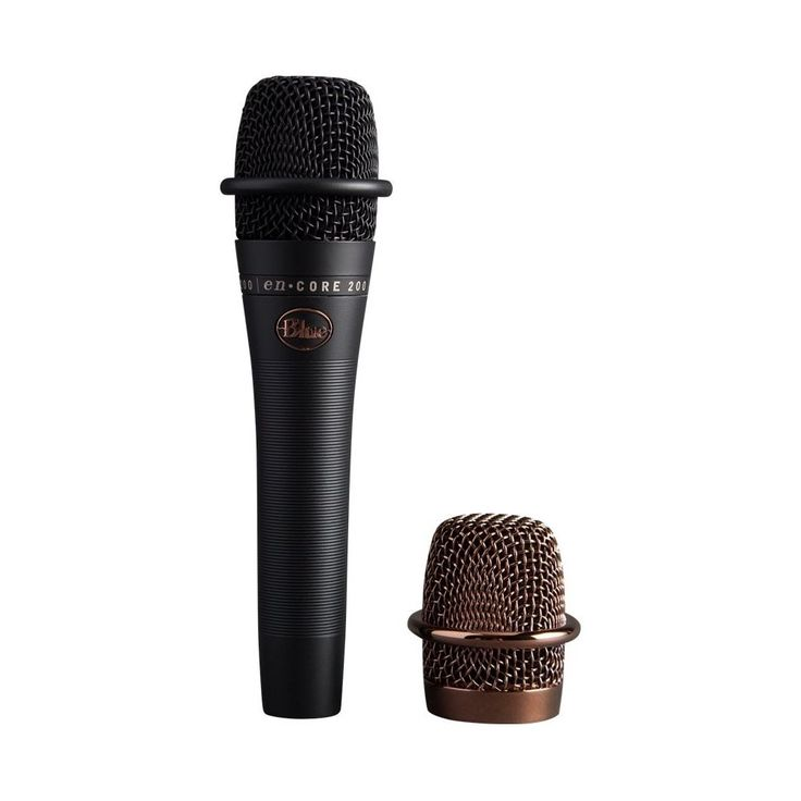 Blue Microphones - En·CORE Dynamic Vocal Microphone - Black