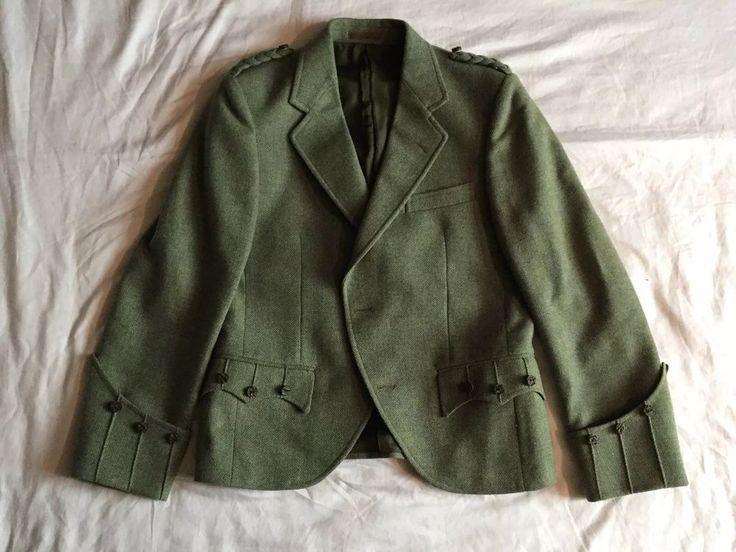 Valentines of Crieff Tweed Kilt Jacket