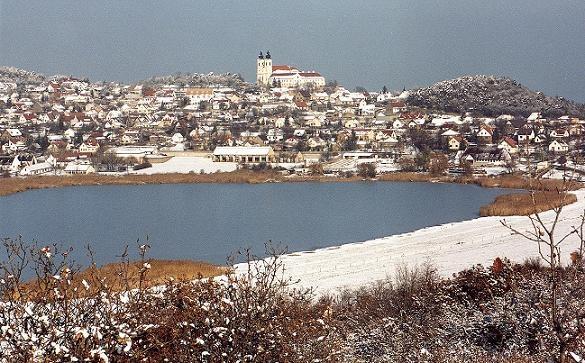 Balaton, Tihany with the inner lake.