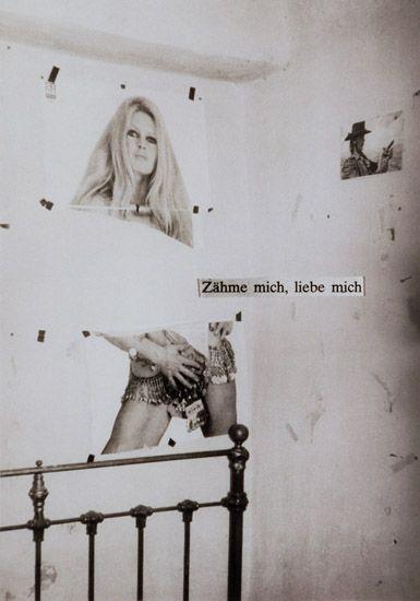 Astrid Klein, Untitled (Zähme mich), 1979