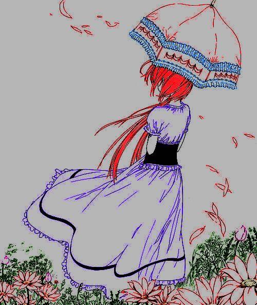 #animegirl #Coloredbyme #ToukoWhiteGraphic  Ita: Se la prendi, mettere i crediti.. grazie.  Eng: If you take it, put the credits.. thanks.