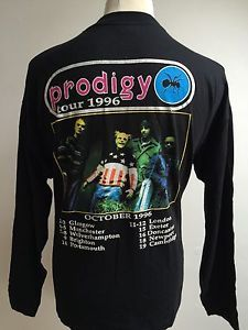 Vintage PRODIGY Fat Of The Land 1996 UK Tour T Shirt Long