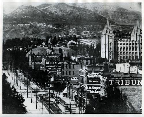1000+ images about Old Salt Lake City on Pinterest | Salt ...