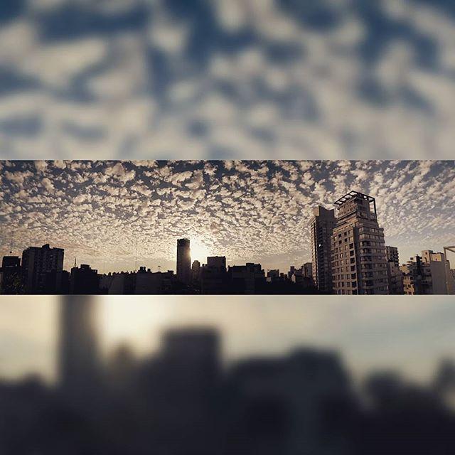 we have a better sunrise  #sunrise #clouds #city
