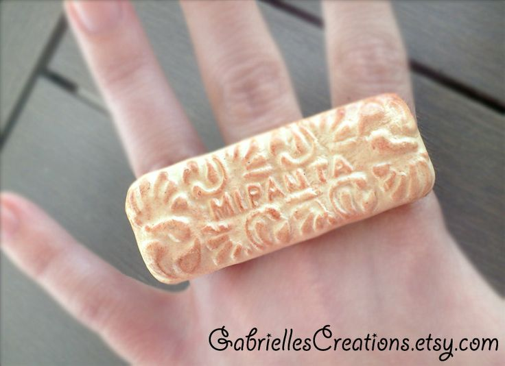 Greek Biscuit Ring  Realistic Miranta by GabriellesCreations, $21.00