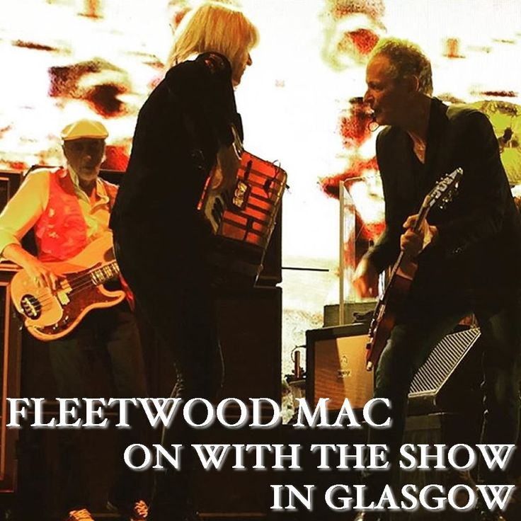 Go Your Own Way :: Fleetwood Mac UK | Gallery - Artwork for Fleetwood Mac live in Glasgow, 8th July 2015 (front)