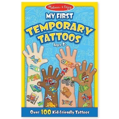 Melissa and Doug My First Temporary Tattoos Shop   #WellWishes #WellRecommends