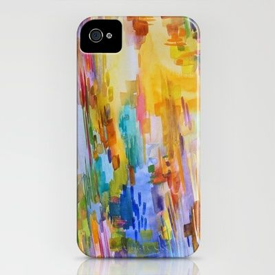 """""""January"""" iPhone case by Jenny Vorwaller. Such a pretty case...too bad I don't have an iPhone."""