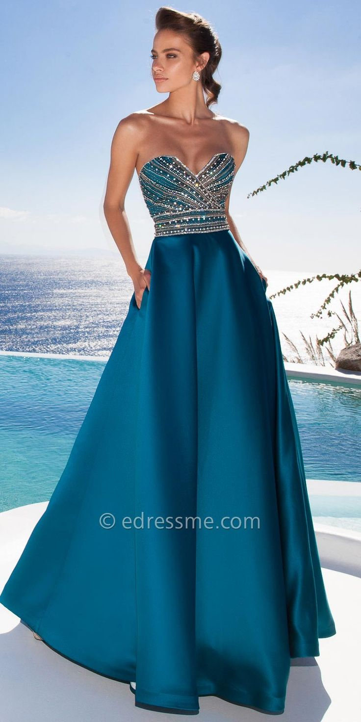 Monroe Evening Dresses By Tarik Ediz