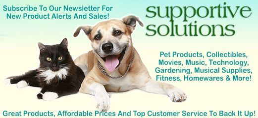 Supportive Solutions Newsletter Sign Up - For New Product Alerts & Special Sales!