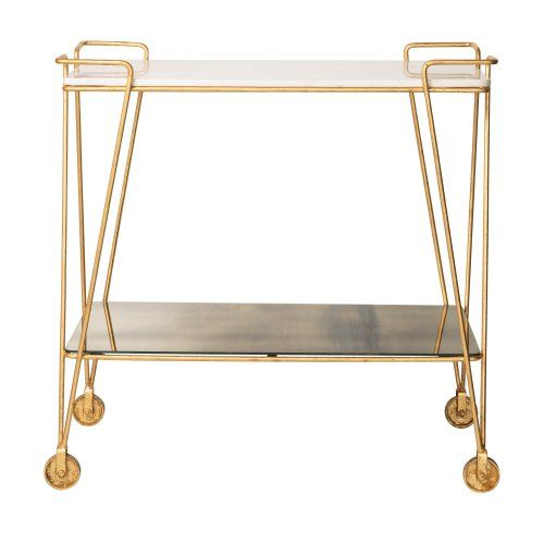 Luxe Drinks Trolley from Oliver Bonas