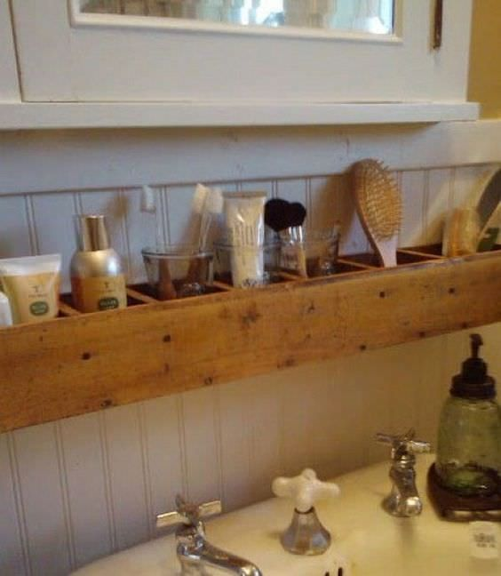 Best  Wooden Bathroom Shelves Ideas On Pinterest Crate Shelves Crate Shelving And Wooden Crates With Shelves