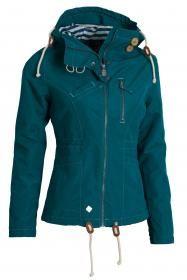 Woox Drizzle Jacket Ladies Blue dámská bunda