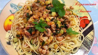 Risparmiamo Insieme - Let's save together: Spaghetti Mari e Monti (versione economica)
