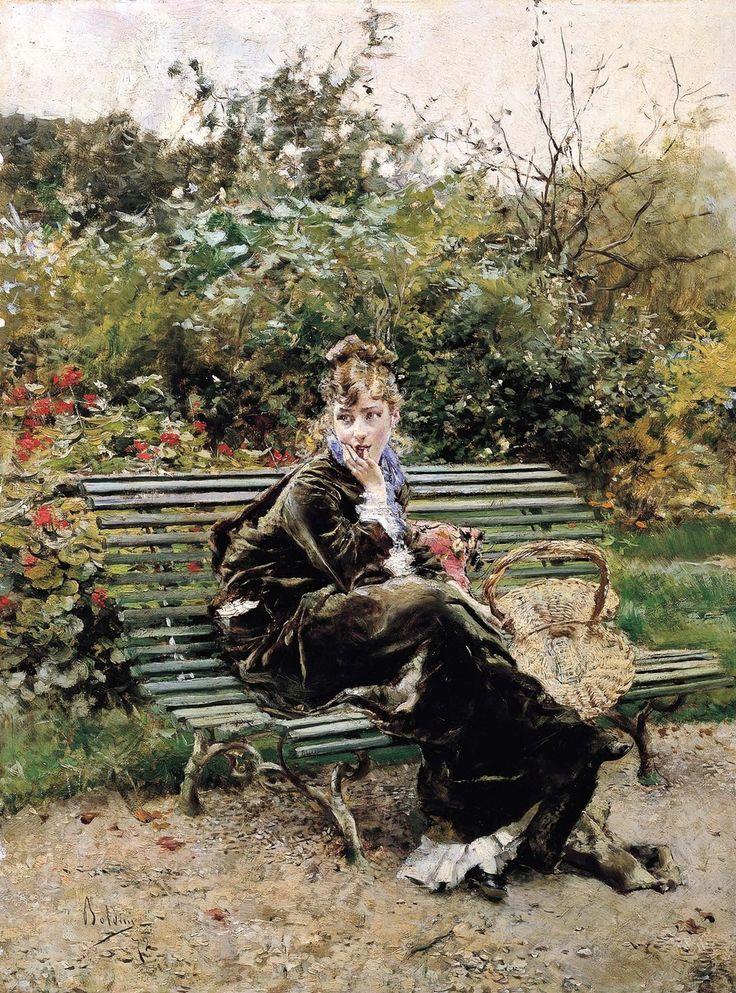 Στο πάρκο Χάιντ Παρκ στο Λονδίνο (1872)