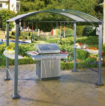 Grillzebo Grill Canopy - contemporary - gazebos - Brookstone