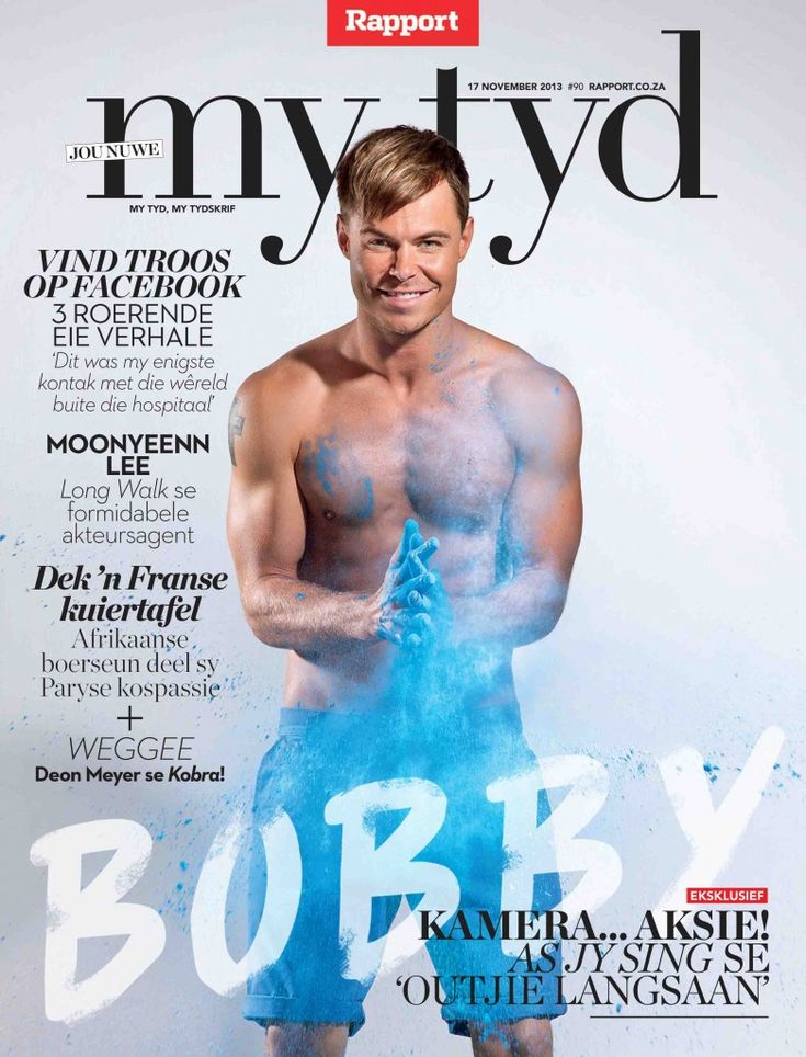 #MagLoveTop10 #SexiestMagazineCovers2013 No. 6: My Tyd (Rapport), 17 November 2013.