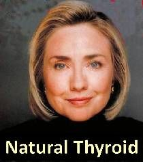 Hillary Clinton Takes Natural Desiccated Thyroid