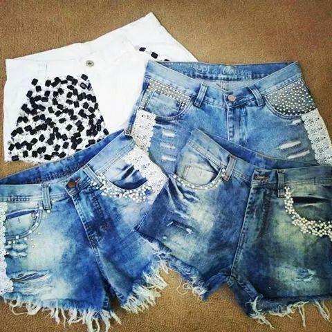 Shorts customizados#josii
