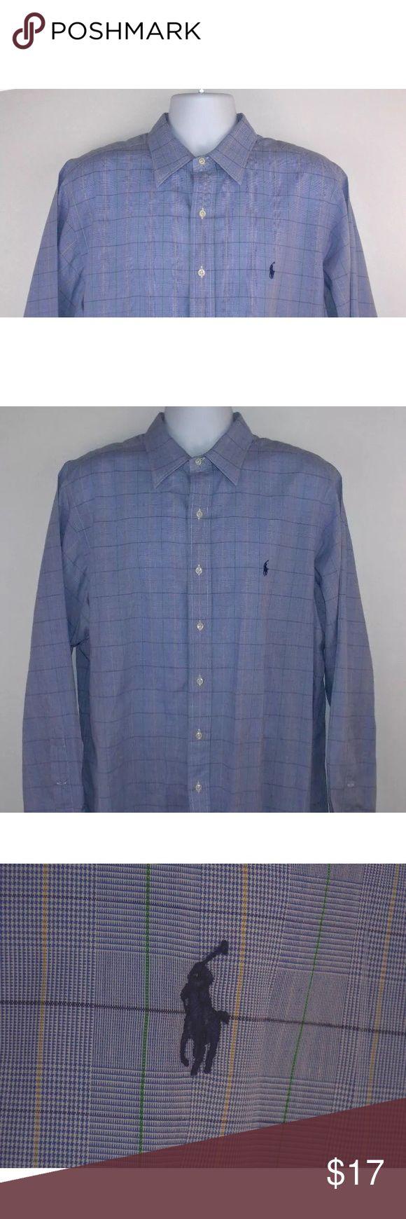 Ralph Lauren Men's Shirt 17 34/35 Long Sleeved Men's Ralph Lauren shirt size 17 34/35. In great overall condition. Polo by Ralph Lauren Shirts Casual Button Down Shirts