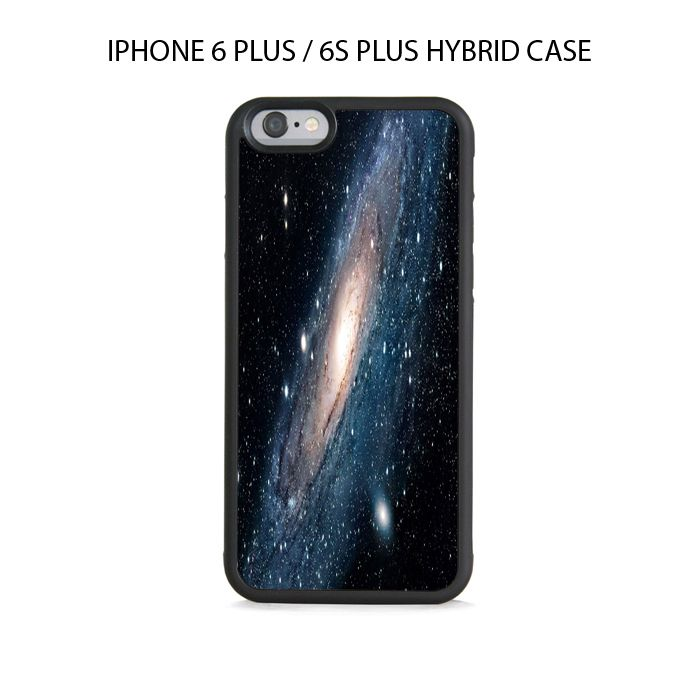 Andromeda Space Galaxy iPhone 6/6s PLUS HYBRID Case Cover