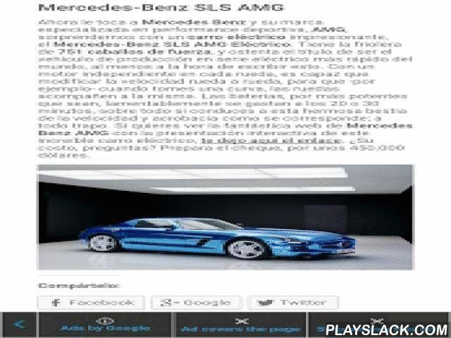 Fotos De Autos  Android App - playslack.com , Actualizamos periodicamente las mejores fotos de autos. Incluímos supercarros, carros híbridos, autos deportivos y autos tuneados. La belleza increíble de estos autos singulares directamente desde nuestra web, te sorprenderá cada día.Además, cada foto de auto viene acompañada de una breve información técnica y anecdótica para que aprendas los detalles de cada modelo.Si presionas sobre una foto, y dejas presionado, se descargará a tu dispositivo…