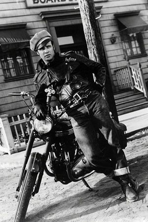 The Wild One | The Guardian: Triumph motorcycles at the movies - in pictures
