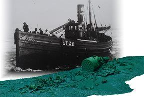 Barco de vapor 'John Mitchell'